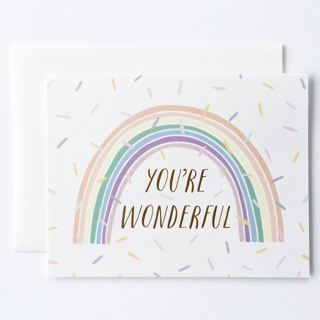 You're Wonderful Card