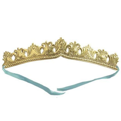 Embossed Gold Crown