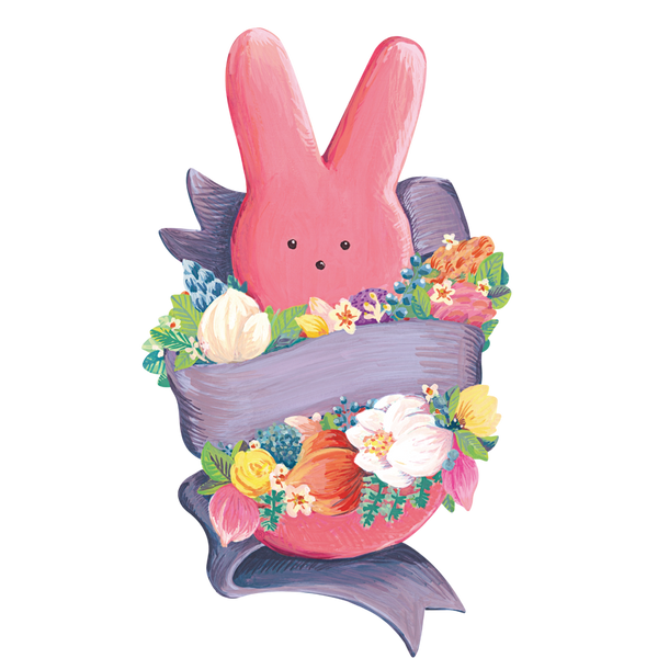 Peeps Bunny Table Accents
