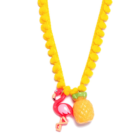Fabulous Flamingo Necklace
