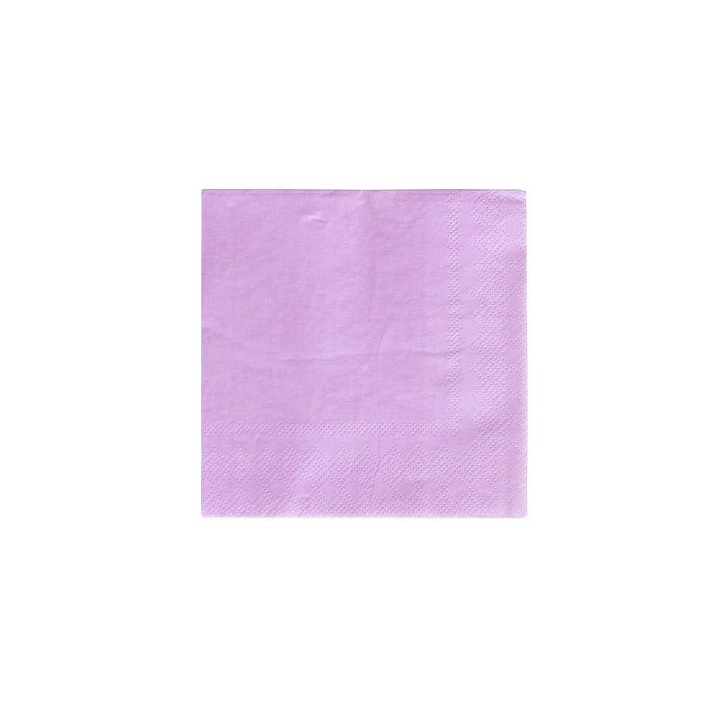 Lilac Party Napkins