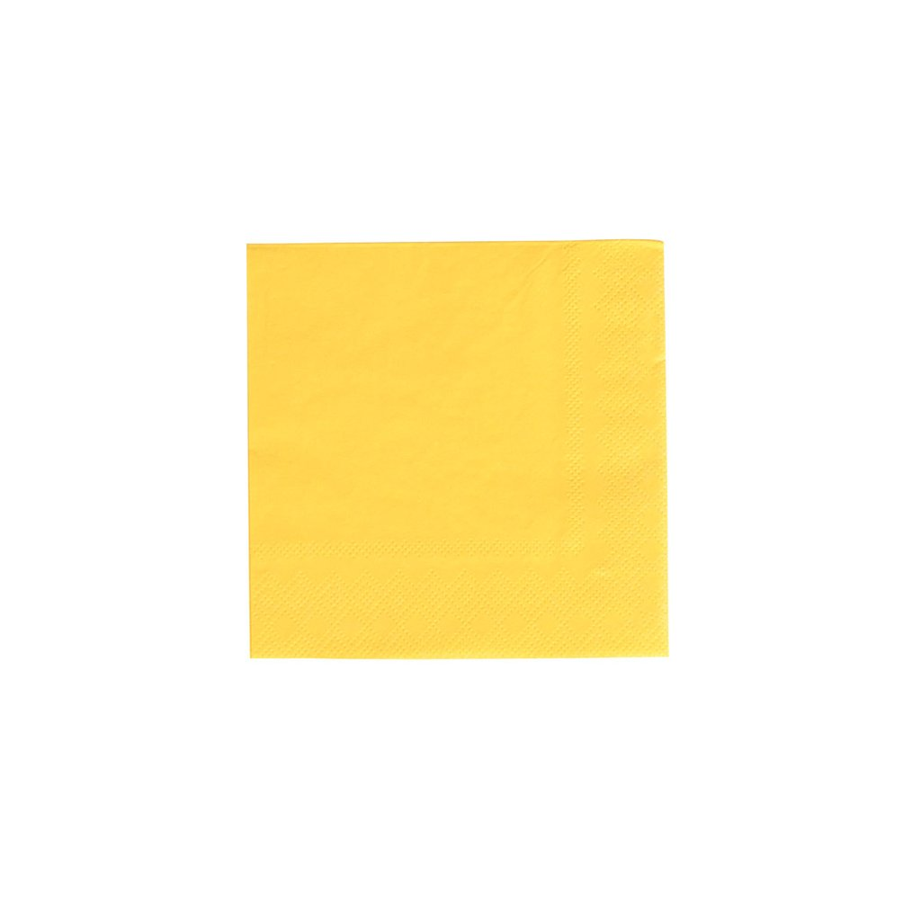 Happy Yellow Party Napkins