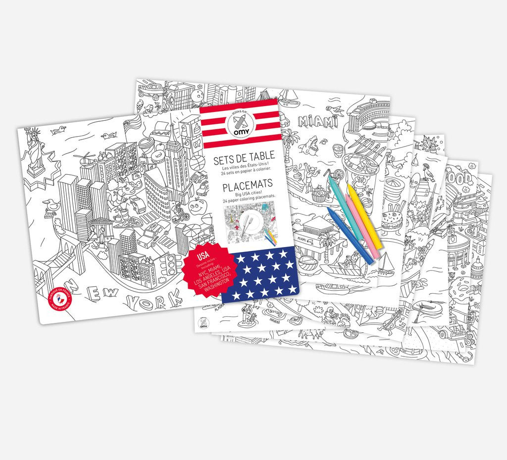USA Placemats