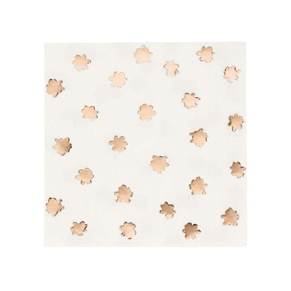 Party Porcelain Rose Gold Napkins