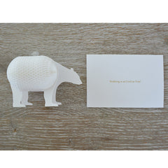'Nothing is as Cool as You!' Honeycomb Card