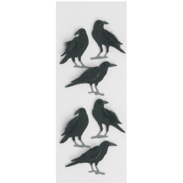 Crows Mini Stickers