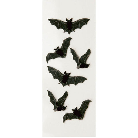 Black Bats Mini Stickers