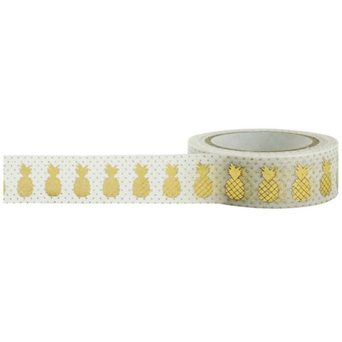 Gold Foil Pineapple Tape