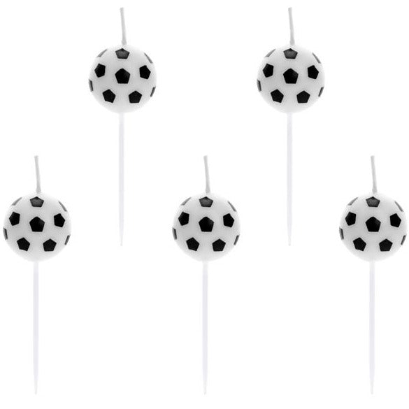 Soccer Ball Birthday Candles