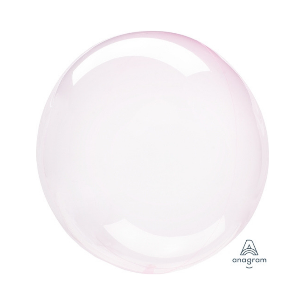 Crystal Clearz Light Pink Balloon