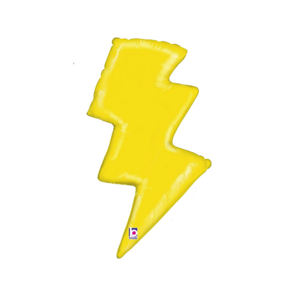Lightning Bolt Mylar Balloon