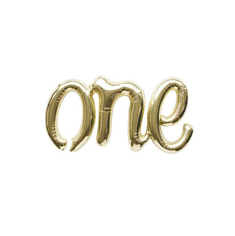 'one' Script Balloon