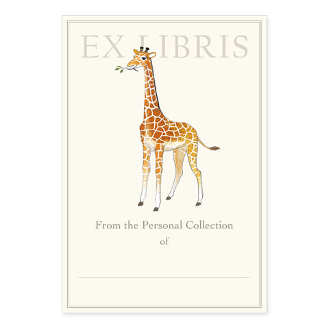 Giraffe Calf Bookplates