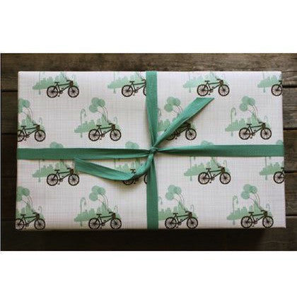 Bicycle and Balloon Gift Wrap