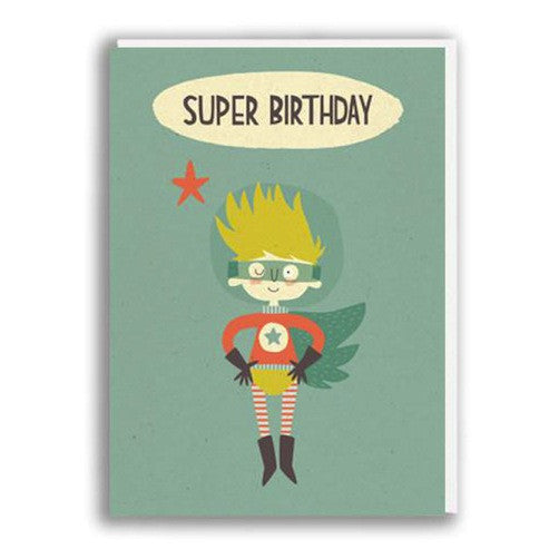 Super Birthday Boy Card