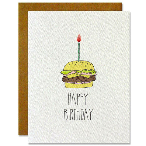 Birthday Burger Card
