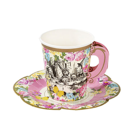 Truly Alice - Cups & Saucers Set