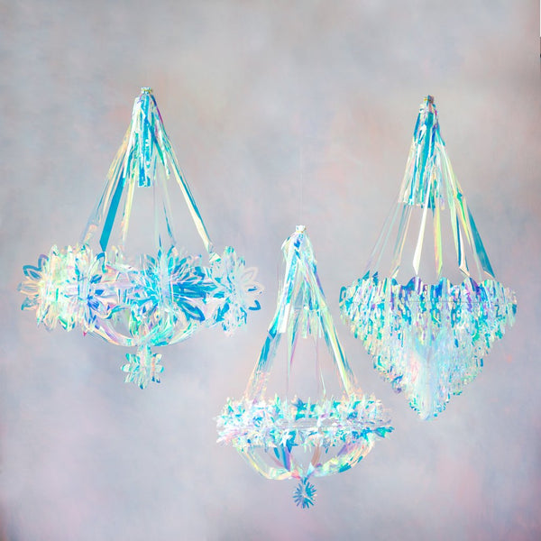 Iridescent Chandeliers