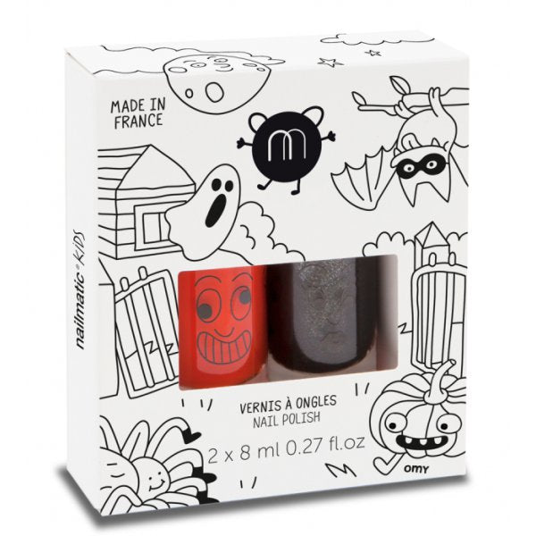 Halloween Nail Polish Duo