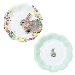Truly Bunny Paper Plates