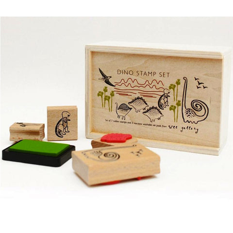 Dino Rubber Stamps Set