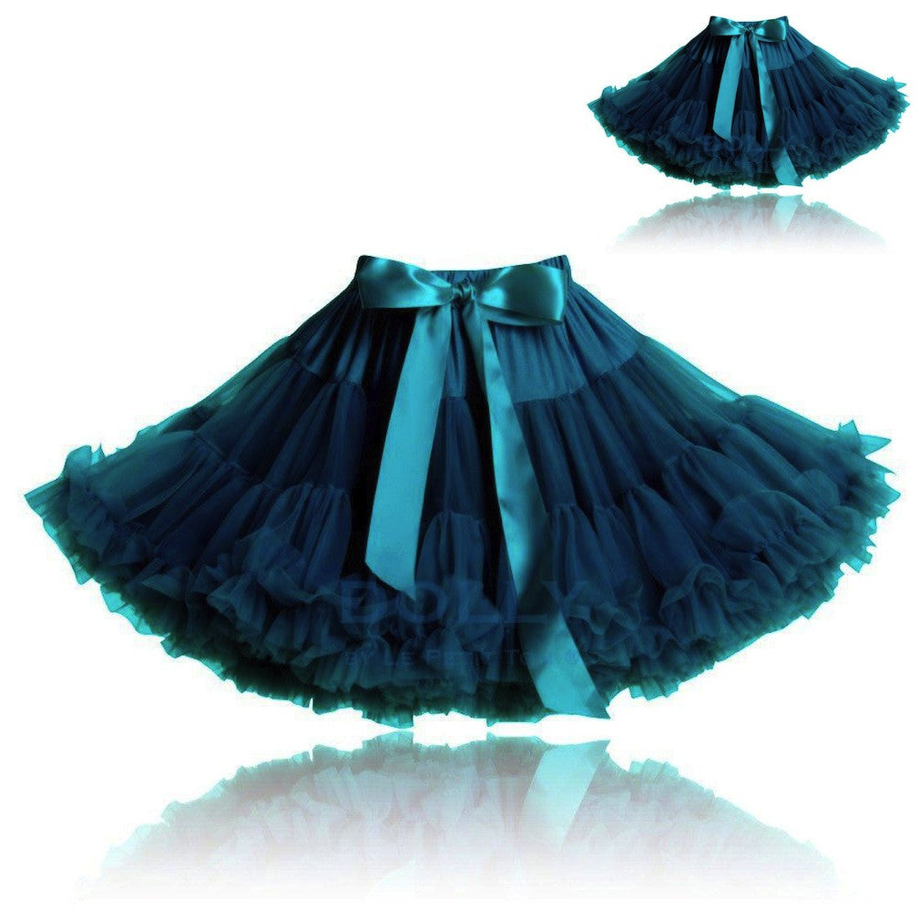 Blue Bird Pettiskirt Set - Emerald Blue