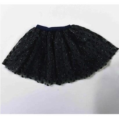Sequin Skirt - Charcoal