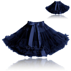 Snow Queen Pettiskirt Set - Midnight blue