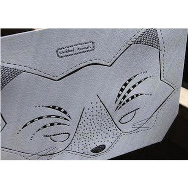Letterpress Mask - Fox