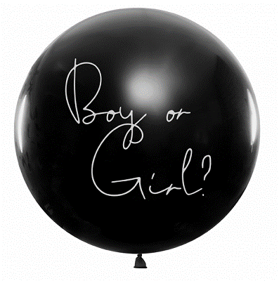 Balloon Gender Reveal - Girl