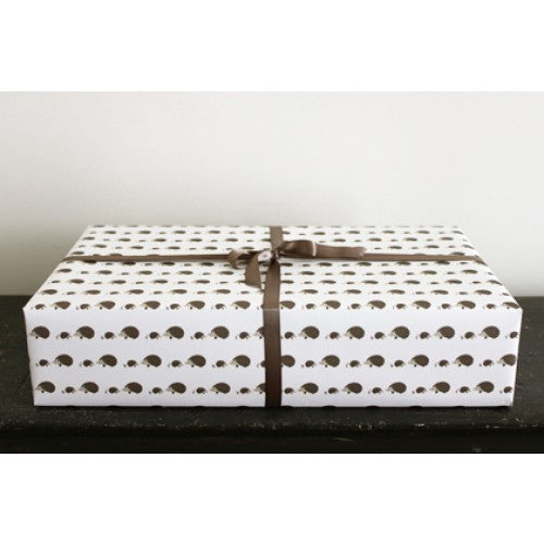 Hedgehogs Gift Wrap
