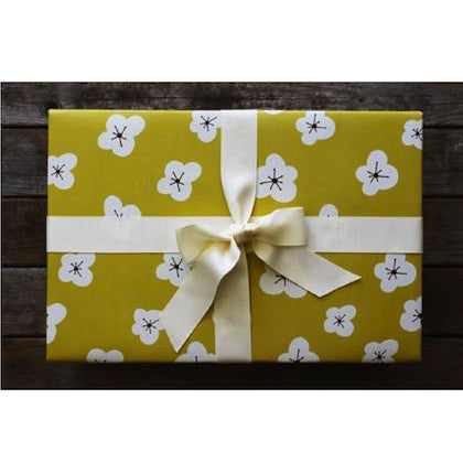 Yellow Magnolia Gift Wrap