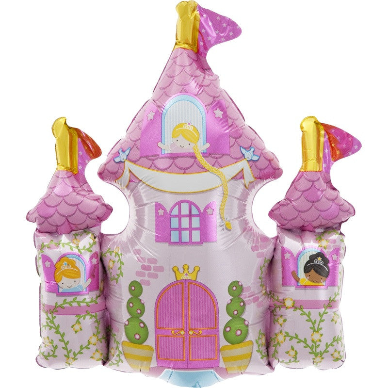 Princess Castle Balloon On A Stick