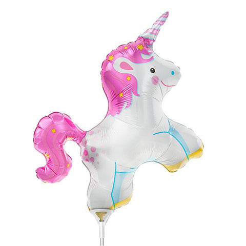 Unicorn Balloon On A Stick