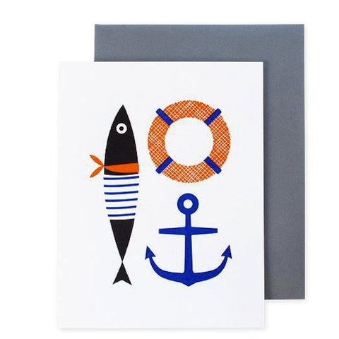 Out To Sea Card