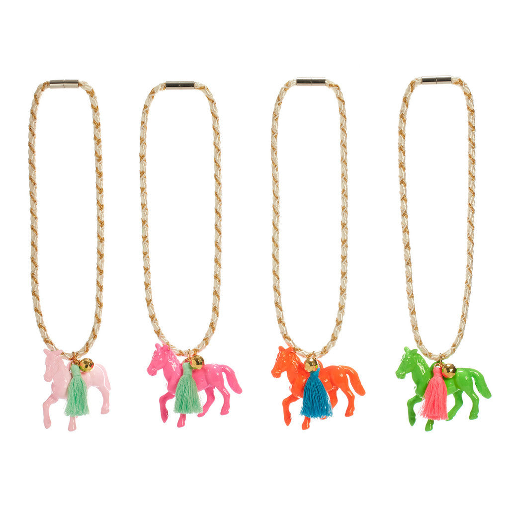 Pony Tassel Necklace