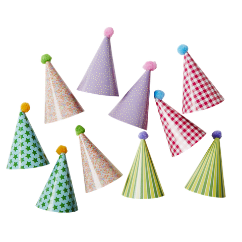 Paper Hat Cupcake Toppers