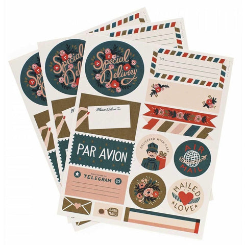 Par Avion - Stickers & Labels