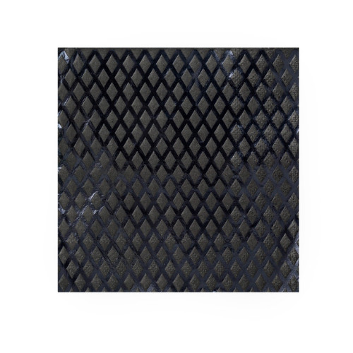 Embossed Black Foil Napkins