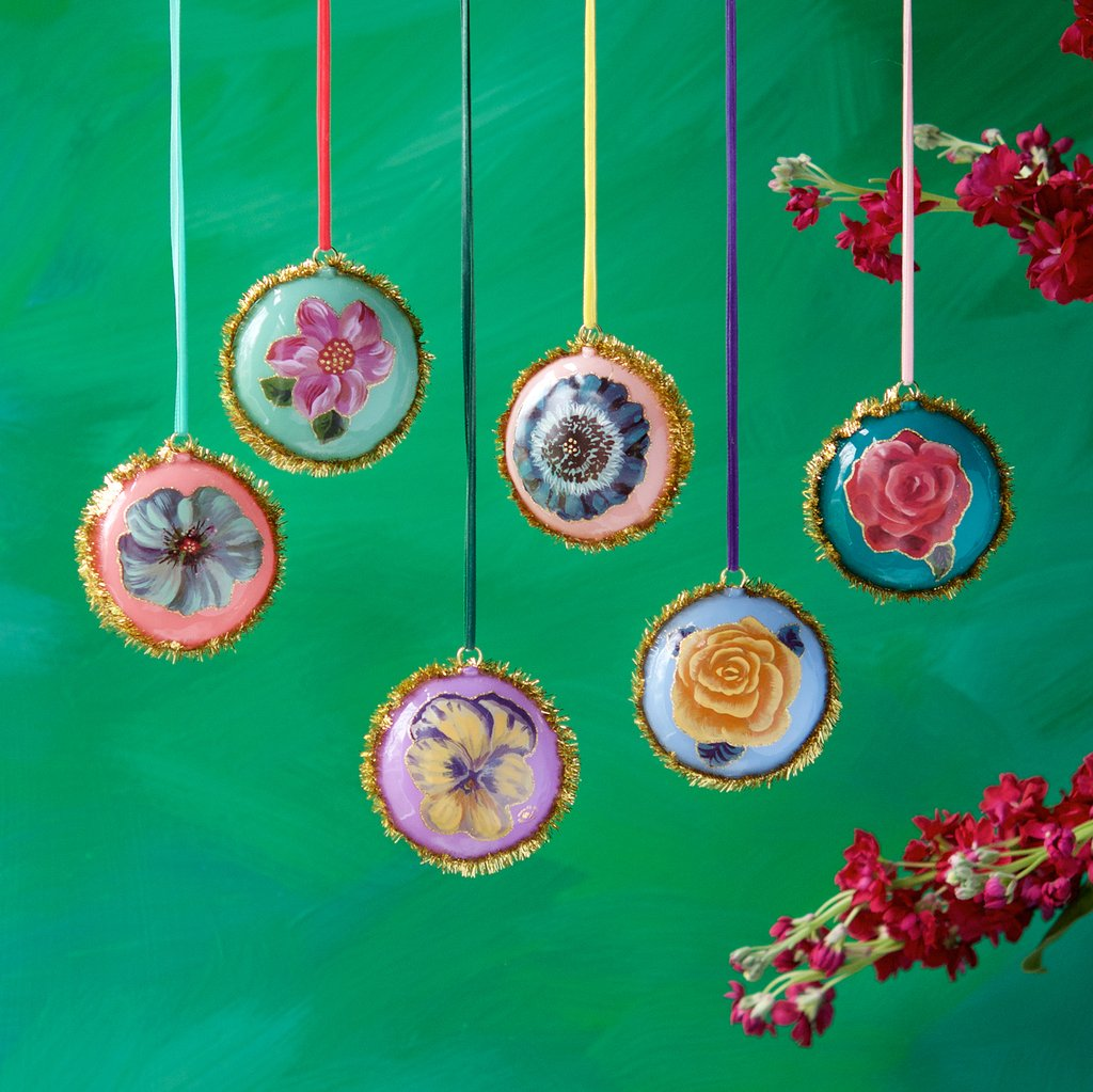 Pillow Flower Ornaments