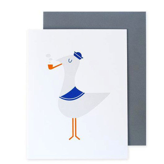Salt the Seagull Card