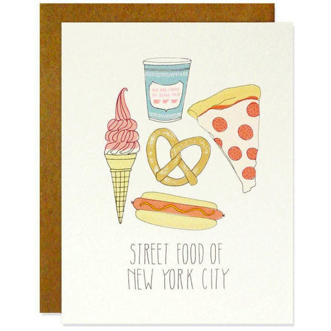 NYC Street Food Card