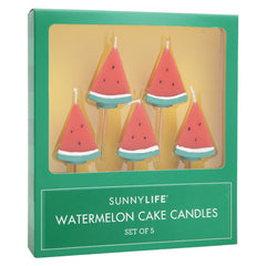Watermelon Candles