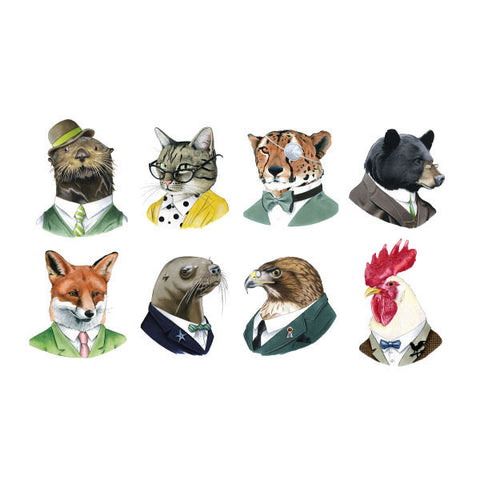 Animal Society Tattoo Set