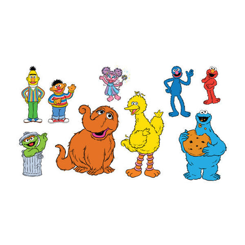 The Sesame Street Character Tattoo Set