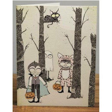 Trick or Treating Card