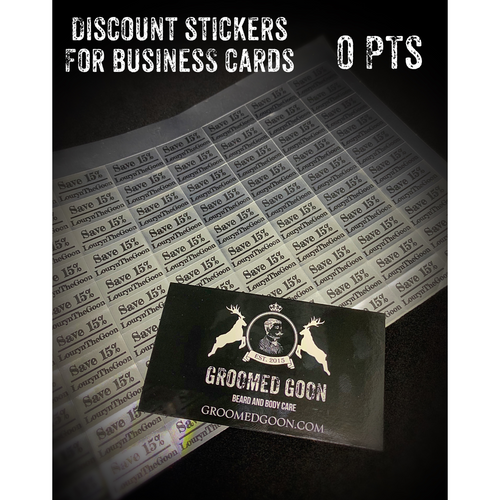 ZDiscount stickers for cards