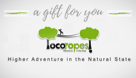 Loco Ropes Emailed Gift Card