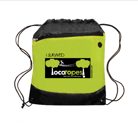 Loco Ropes Drawstring Backpack