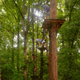 High Ropes Adventure in Mountain View Arkansas